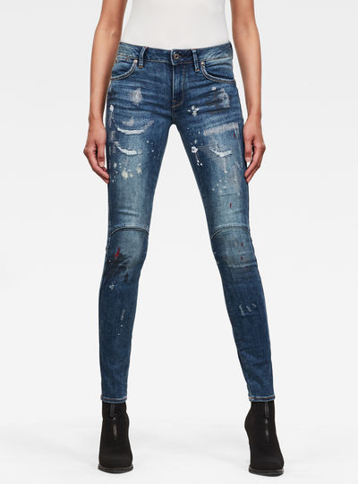 G-Star Jackpant 3D Mid Skinny Jeans