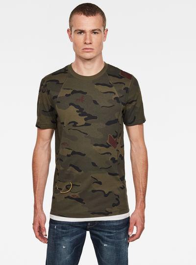 Circle Camo AOP T-Shirt