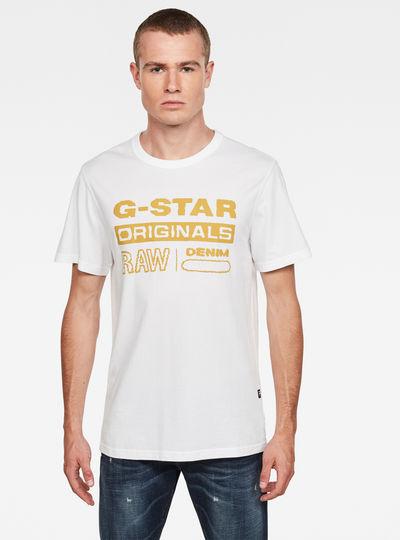 Wavy Logo Originals T-Shirt