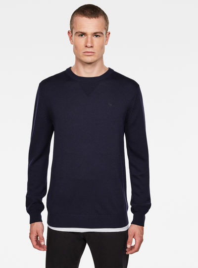 Premium Basic Knitted Pullover