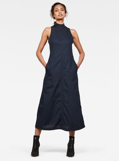 Utility Long Kleid