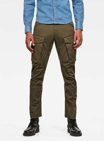 3D Cargo Straight Tapered Pant