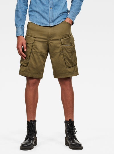 Loose 1/2-Length Cargo Shorts
