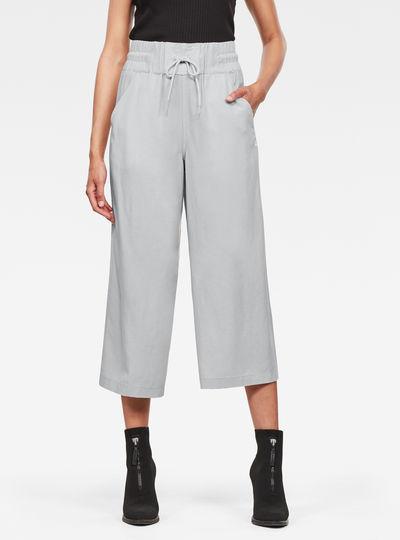 Pantalon High Waist Culotte
