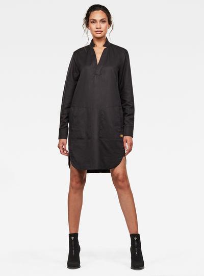 Robe-chemise Milary V-neck