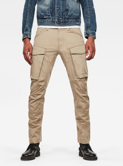 3D Cargo Straight Tapered Pants