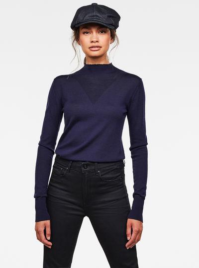 Stokyr Turtle Slim Knitted Sweater