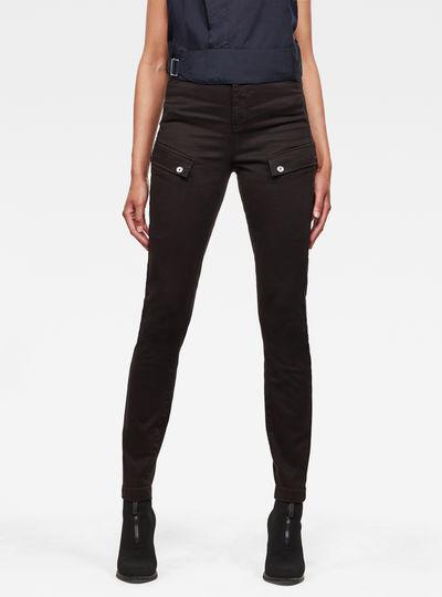 Pantalon Blossite Army Ultra High Skinny