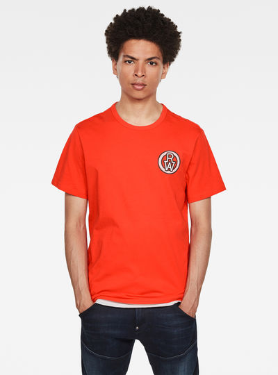 Round RAW Badge T-Shirt