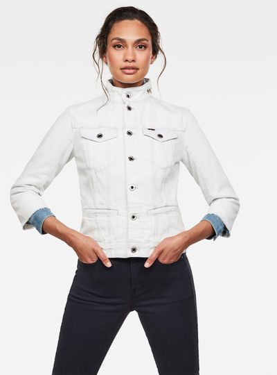 Chaqueta Utility Slim Raw Edge