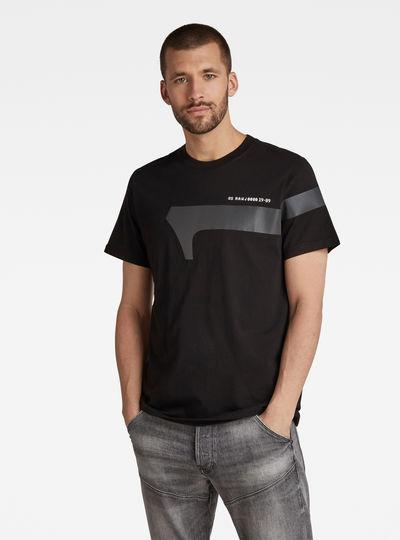T-shirt 1 Reflective Graphic