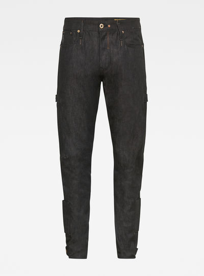 E Scutar 3D Slim Tapered Adjusters Jeans