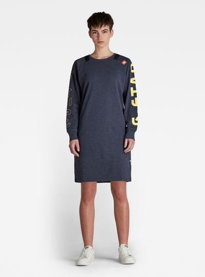 Robe-sweat Tweater Sleeve Print