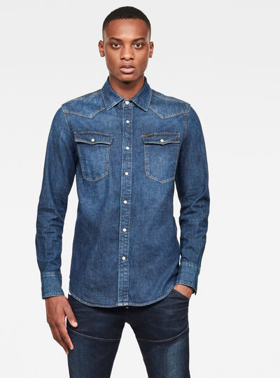 Denim Slim Shirt