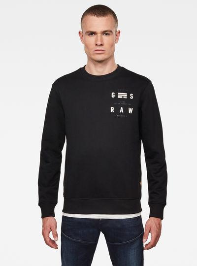 Back Print Logo Sweater