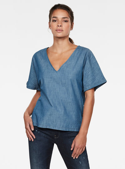 Joosa Woven T-Shirt