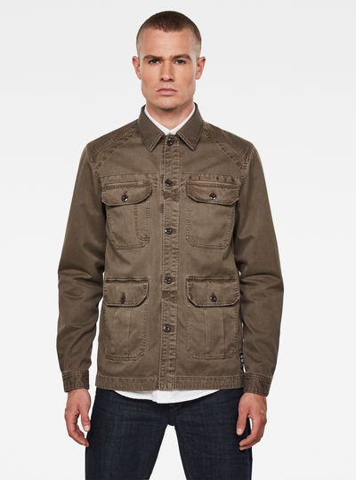 Utility 4 Pocket Overshirt