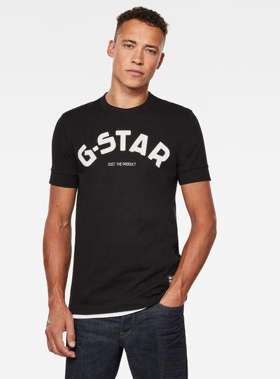 Felt Applique Logo Slim T-Shirt