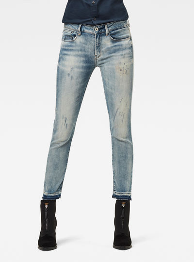 3301 Mid Skinny RP Ankle Jeans