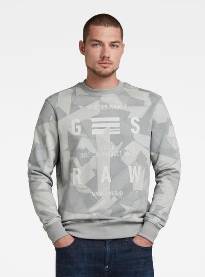 Tape AOP Sweater