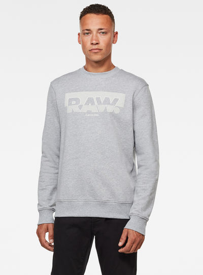 Raw Block Raster Sweater