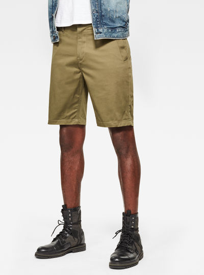 Straight Chino 1\2 Length Shorts