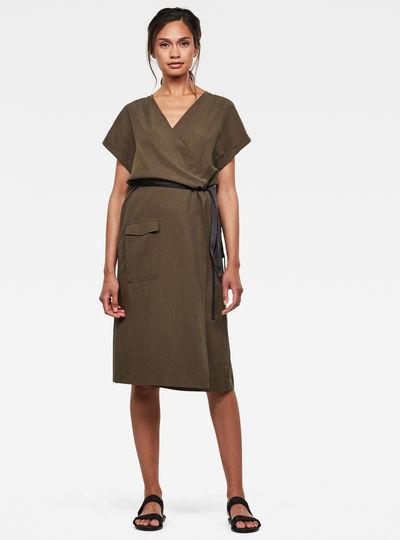 Wrap Kleid