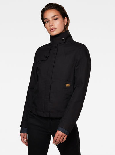 Slim Overshirt Jacket