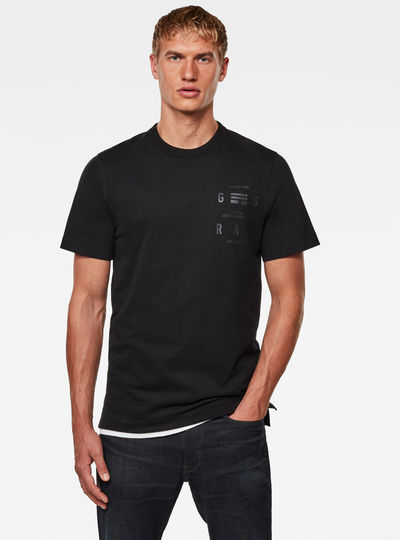 T-shirt Back Graphic Logo