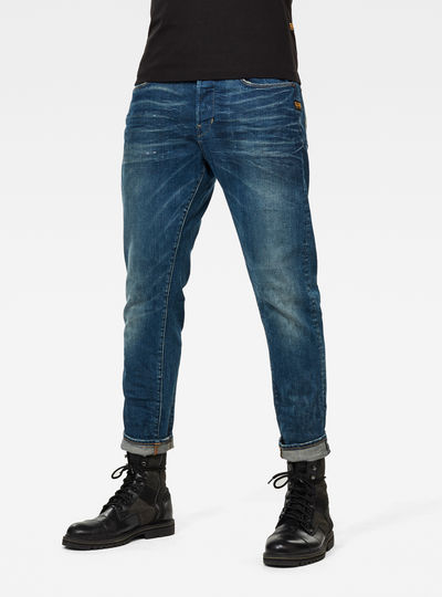 Loic Relaxed Tapered Jeans
