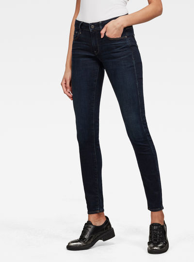 3301 Mid Wasit Skinny Jeans
