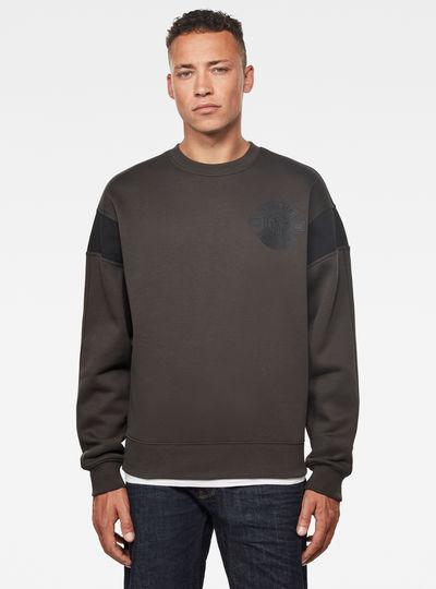Drein Moto Badge Sweater