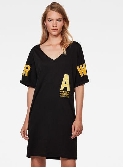 Graphic Joosa V-Neck Dress