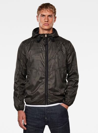 Strett Hooded Jacke
