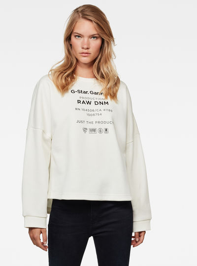 Sweat Graphic Text Relaxed