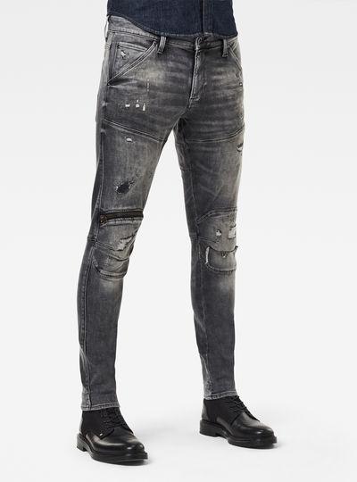 5620 3D Zip Knee Skinny Originals Jeans