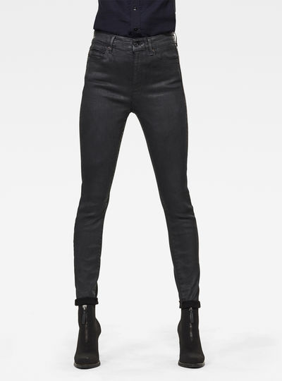 G-Star Shape Studs High Super Skinny Jeans