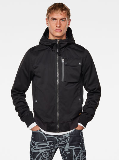Utility Hooded Softshell Jacket