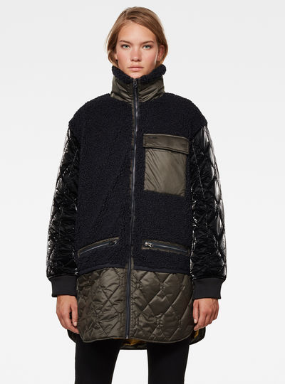 Sous-veste Long Teddy Quilted