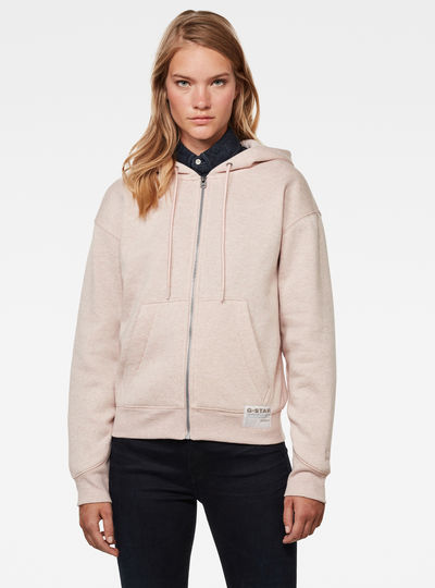 Premium Core Hooded Zip Through Sweater