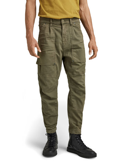 Pantalon Fatigue Relaxed Tapered