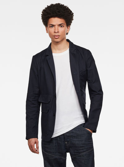 Utility 4-button Blazer
