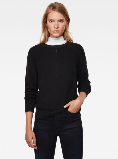 Core Pointelle R Knitted Sweater