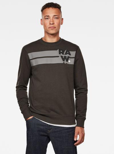 Logo Blocked Sweatshirt