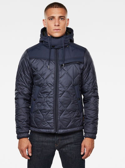 Attacc Heatseal Quilted Hooded Jacket
