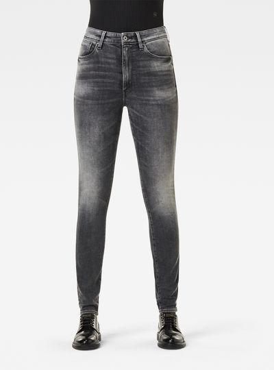 Kafey Studs Ultra High Skinny Jeans