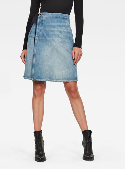 Lintell Wrap Skirt
