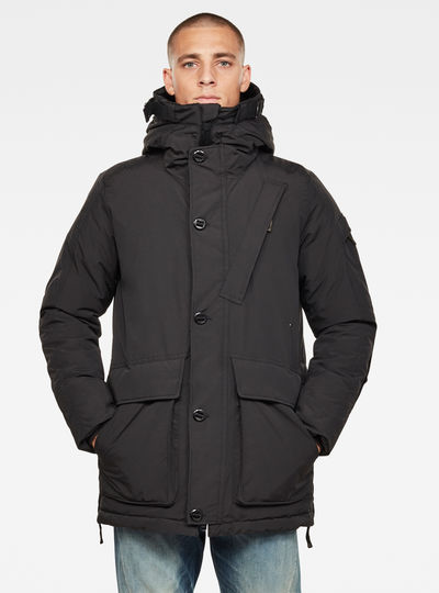 Citishield Short Padded Hooded Parka