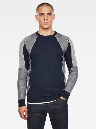 3D Moto Knitted Sweater