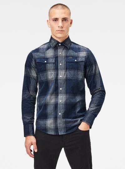 3301 Slim Shirt Check